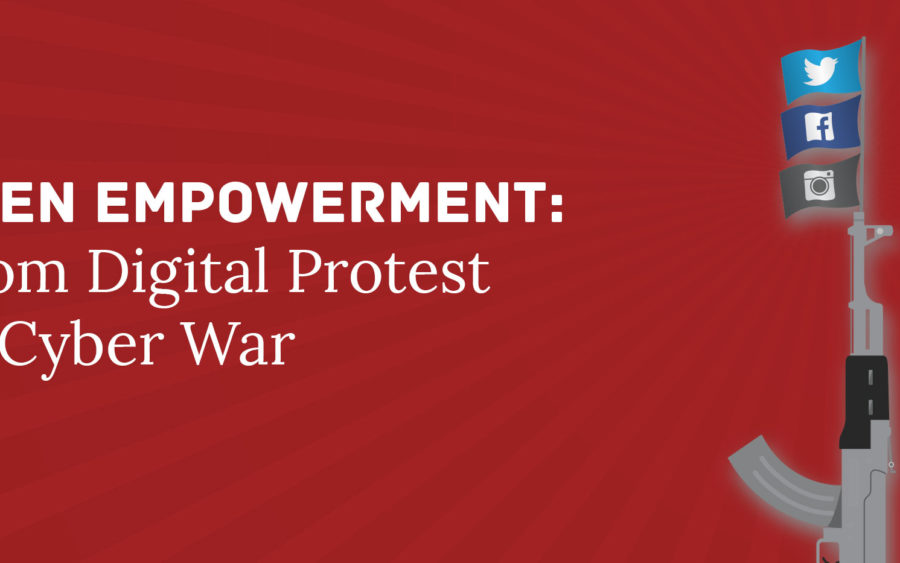 Digital Protest and Cyber War